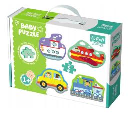 Puzzle dla dzieci Trefl Baby classic Pojazdy transport