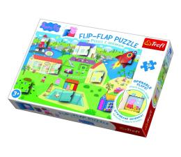 Puzzle dla dzieci Trefl Puzzle z okienkiem 36 el Świat Świnki Peppy