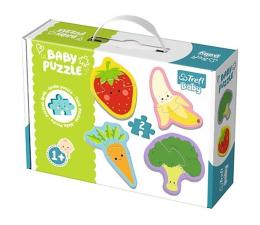Puzzle dla dzieci Trefl Baby classic Warzywa i owoce