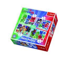 Puzzle dla dzieci Trefl 4w1 Drużyna Pidżamersów Masks