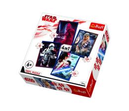Puzzle dla dzieci Trefl Disney 4w1 Gotowi do starcia Star Wars