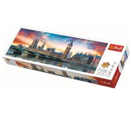 Puzzle 500 - 1000 elementów Trefl 500 el Panorama Big Ben i Pałac Westminsterski
