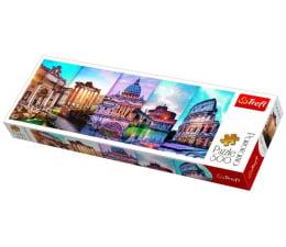 Puzzle 500 - 1000 elementów Trefl 500 el Panorama Podróż do Włoch