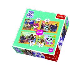 Puzzle dla dzieci Trefl 4w1 Miłe wspomnienia Littles Pet Shop