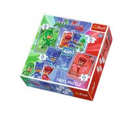 Puzzle dla dzieci Trefl 4w1 Kotboy i Drużyna