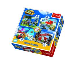 Puzzle dla dzieci Trefl 4w1 Odlotowa paczka