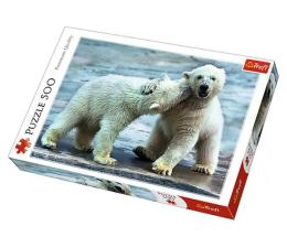 Puzzle 500 - 1000 elementów Trefl 500 el Misie Polarne