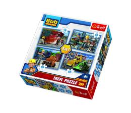 Puzzle dla dzieci Trefl 4w1 Pracowity dzień