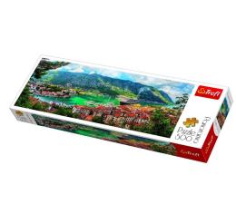 Puzzle 500 - 1000 elementów Trefl 500 el Panorama Kotor Czarnogóra