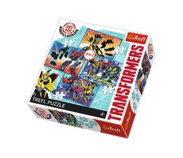 Puzzle dla dzieci Trefl 4w1 Transformers Czas na transformację