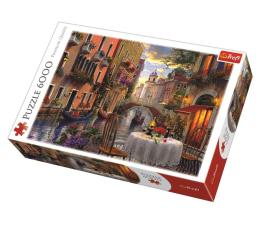 Puzzle powyżej 1500 elementów Trefl 6000 el Romantyczna kolacja