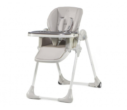 Krzesełko do karmienia Kinderkraft Yummy Grey