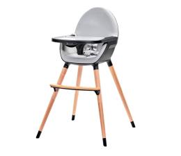 Krzesełko do karmienia Kinderkraft Fini 2w1 Black