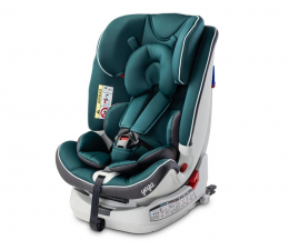 Fotelik 0-36 kg Caretero Yoga Green ISOFIX