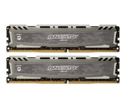 Pamięć RAM DDR4 Crucial 16GB (2x8GB) 3000MHz CL15 Ballistix Sport LT Gray