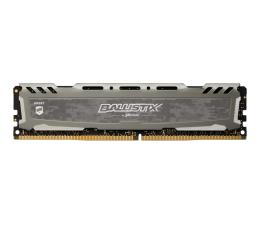 Pamięć RAM DDR4 Crucial 8GB (1x8GB) 3000MHz CL15 Ballistix Sport LT Gray