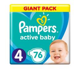 Pieluchy jednorazowe Pampers Active Baby 4 9-14kg 76szt Zapas