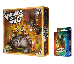 Gra planszowa / logiczna Games Factory Vikings Gone Wild + Booster