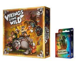Gra planszowa / logiczna Games Factory Vikings Gone Wild + Booster