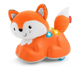 Zabawka dla małych dzieci Fisher-Price Edukacyjny Lisek Raczkuj Ze Mną
