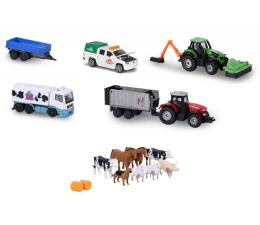 Pojazd / tor i garaż Simba Majorette Zestaw farmerski
