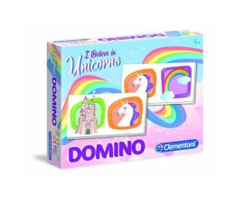 Gra dla małych dzieci Clementoni Domino Pocket Unicorno