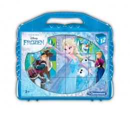 Klocki Clementoni Disney Klocki obrazkowe 12 el. Frozen