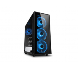 Obudowa do komputera Sharkoon TG4 Blue