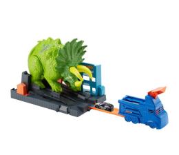 Pojazd / tor i garaż Hot Wheels City Zestaw Starcie Z Triceratopsem