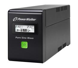 Zasilacz awaryjny (UPS) Power Walker VI 800 SW (800VA/480W, 2xSchuko, USB LCD, AVR)