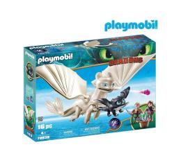 Klocki PLAYMOBIL ® PLAYMOBIL Biała Furia z małym smokiem i dziećmi