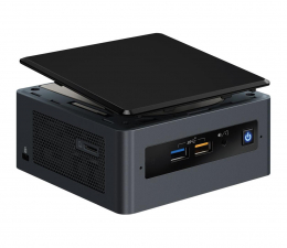 "Nettop/Mini-PC Intel NUC i3-8109U 2.5""SATA M.2 BOX"