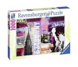 Puzzle 1000 - 1500 elementów Ravensburger Nowy Jork Kolaż 1000 el.