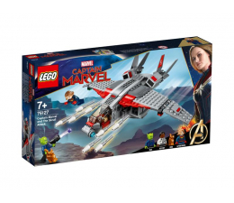 Klocki LEGO® LEGO Marvel Super Heroes Kapitan Marvel i atak Skrullów