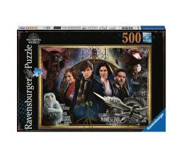 Puzzle 500 - 1000 elementów Ravensburger Fantastyczne Zwierzęta 500 el.