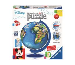 Puzzle do 500 elementów Ravensburger 3D Disney Globus 180 el.