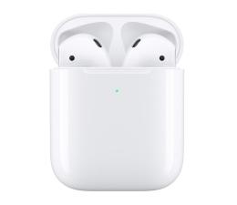 Słuchawki bezprzewodowe Apple NEW AirPods 2019 z bezprzewodowym etui ładującym