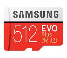 Karta pamięci microSD Samsung 512GB microSDXC Evo Plus zapis 90MB/s odcz 100MB/s