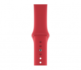 Pasek / bransoletka Apple Pasek sportowy RED do koperty 44 mm