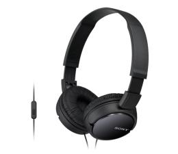 Słuchawki przewodowe Sony MDR-ZX110AP Czarne