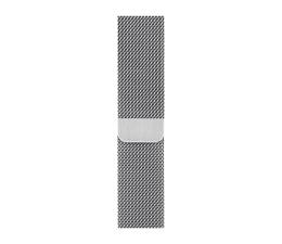 Pasek / bransoletka Apple Bransoleta mediolańska srebrna  do koperty 44 mm