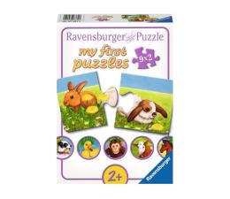 Puzzle dla dzieci Ravensburger Słodkie zwierzęta
