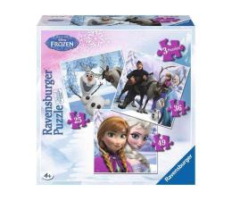 Puzzle dla dzieci Ravensburger Disney Anna, Elsa i ich przyjaciele