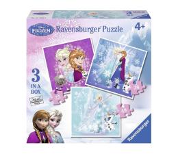 Puzzle dla dzieci Ravensburger Disney Zimowa Magia