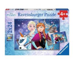 Puzzle dla dzieci Ravensburger Disney Frozen światła północy