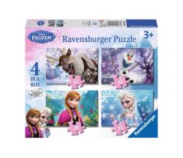Puzzle dla dzieci Ravensburger Disney Frozen Puzzle+memory