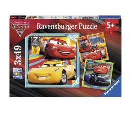 Puzzle dla dzieci Ravensburger Disney Auta Legendy na torze