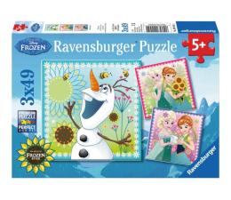 Puzzle dla dzieci Ravensburger Disney Gorączka zimy