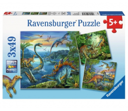 Puzzle dla dzieci Ravensburger Fascynacja dinozaurami