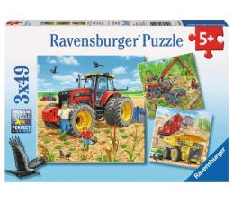 Puzzle dla dzieci Ravensburger Wielkie maszyny